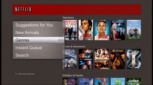 Netflix Interface 3.0